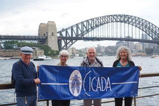 CICADA at Sydney Opera House on International CI Day!