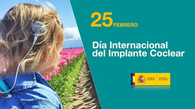 The Spanish Government recognises CI users and AICE