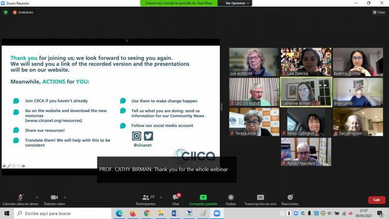 CIICA LIVE in JULY: Advocacy: how do we do it?