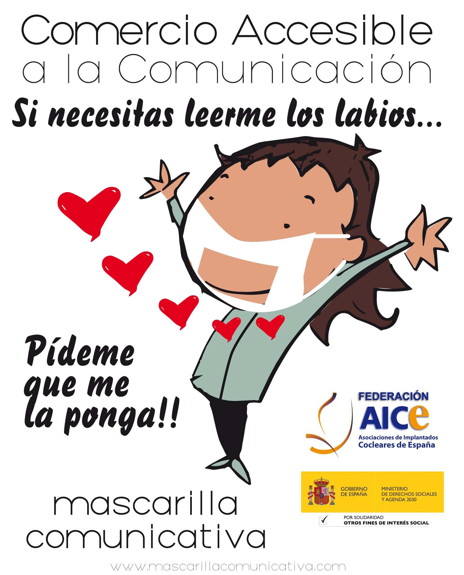 AICE, ESPANA, Campaña Comercio Accesible!