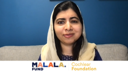 Malala Fund and Cochlear Foundation in Partnership